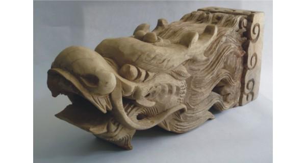 本公司研发的东阳木雕龙头